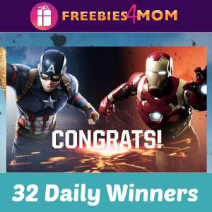 Sweeps Pizza Hut Marvel's Captain America