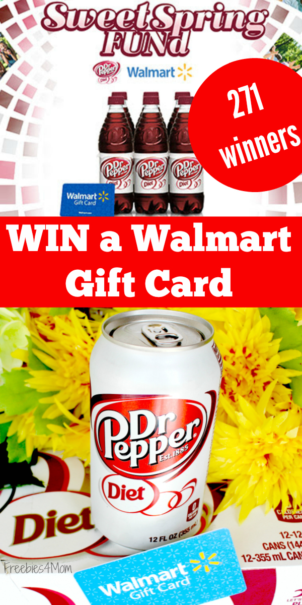 Enter Diet Dr Pepper Sweet Spring FUNd Sweepstakes