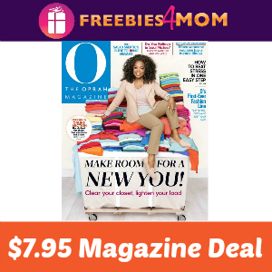 Magazine Deal: O, The Oprah Magazine $7.95