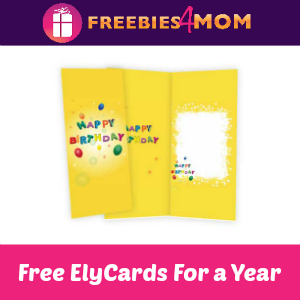 Free ElyCards For a Year
