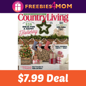 Magazine Deal: Country Living $7.99
