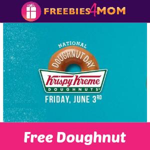 Free Krispy Kreme Doughnut June 3