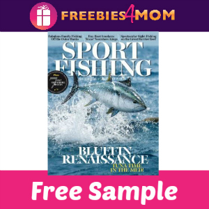 Free Sport Fishing Magazine (1 year, $10 Value)