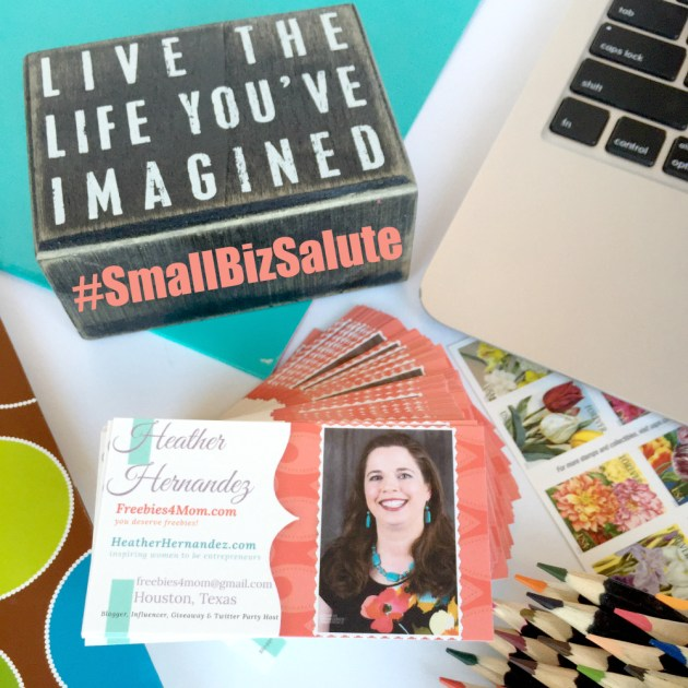 My business card from The UPS Store #SmallBizSalute