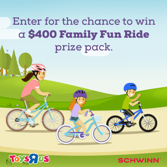 Schwinn SmartStart Family Ride Pack Sweepstakes
