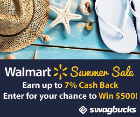$1,000 in Prizes when you shop at Walmart