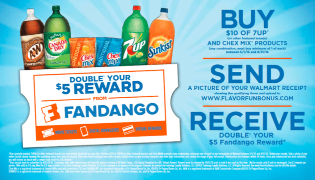 Earn a Free Movie Ticket with More Flavor More Moments at Walmart