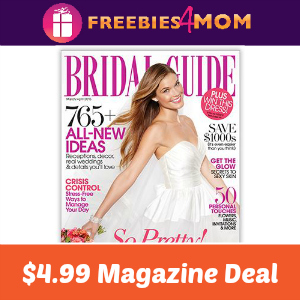 Magazine Deal: Bridal Guide $4.99