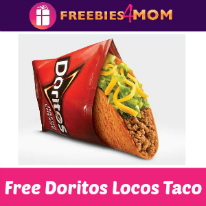 Free Doritos Locos Taco at Taco Bell Nov 1