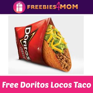 Free Doritos Locos Taco at Taco Bell June 18