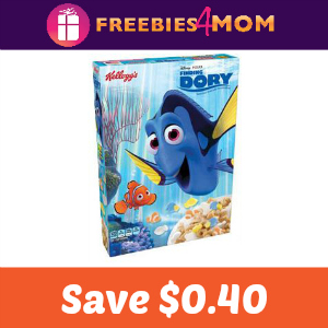 Coupon: Save $0.40 off Finding Dory Cereal