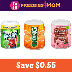 $0.55 off one Country Time, Kool-Aid or Tang