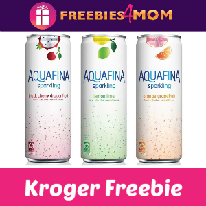 Free Aquafina Sparkling Water at Kroger