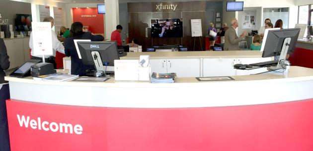 Xfinity Store Welcome