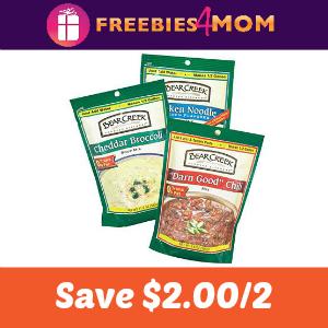 Coupon: $2.00 off 2 Bear Creek Soup Mixes