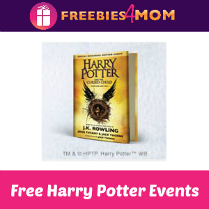 Free Harry Potter Events at Barnes & Noble