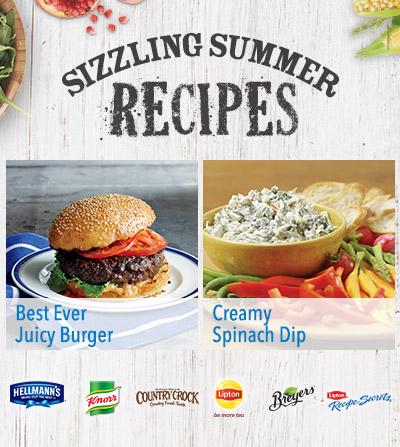 Sizzling Summer Recipes at Walmart