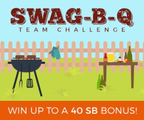 Join Swagbucks Swag-B-Q Team Challenge
