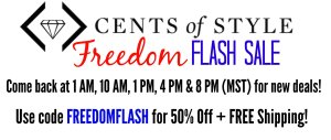 Cents of Style Flash Sale New Deals All Day!