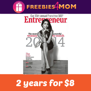 Magazine Deal: 2 years of Entrepreneur $8