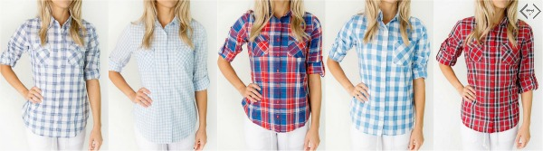 Plaid Shirts for $19.98