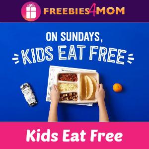 Kids Eat Free at Chipotle on Sundays