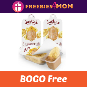 BOGO Free Justin's Peanut Butter Snack Packs