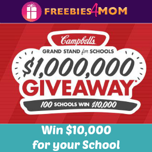 Sweeps Campbell's Grand Stand for Schools