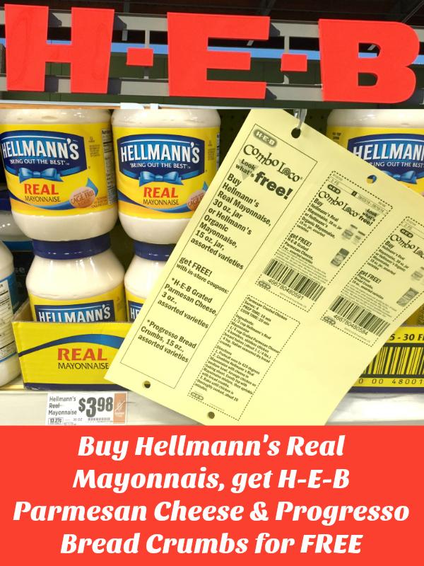 Hellmann's Real Mayonnaise Deal at H-E-B