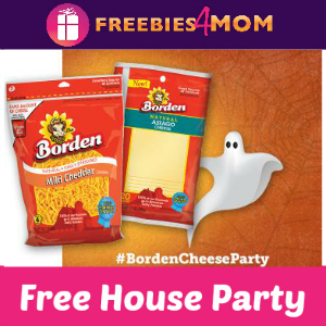 "Free House Party: Say ""Boo"" with Borden Cheese"