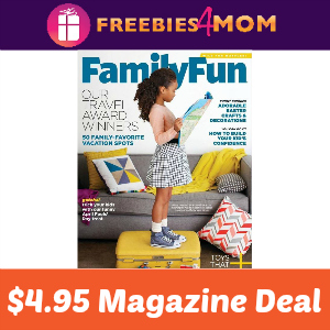 Magazine Deal: Family Fun $4.95