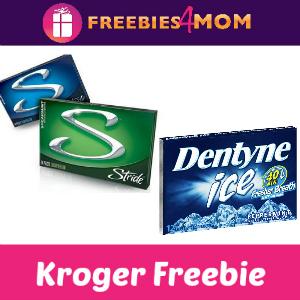 Free Pack of Stride or Dentyne Gum at Kroger