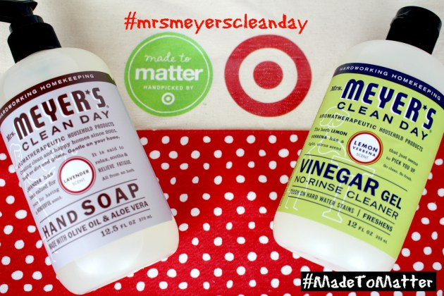Mrs. Meyer's Clean Day products #MadetoMatter from Target