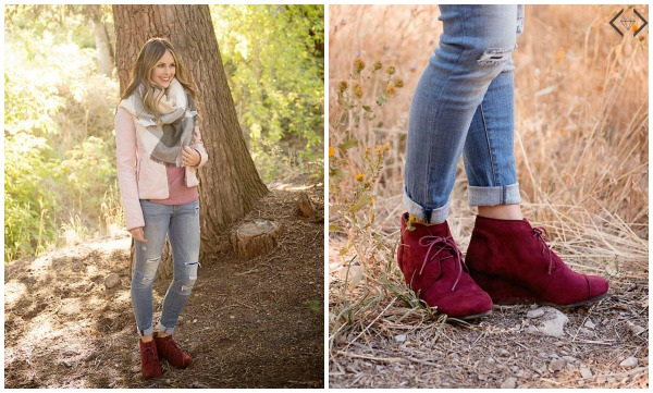 Ankle Boot & Scarf Combo $29.95