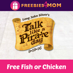 Free Fish or Chicken at Long John Silver's