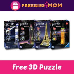 Free Ravensburger 3D Puzzle