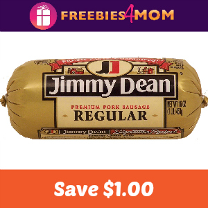 Coupon: $1.00 off Jimmy Dean Fresh Sausage
