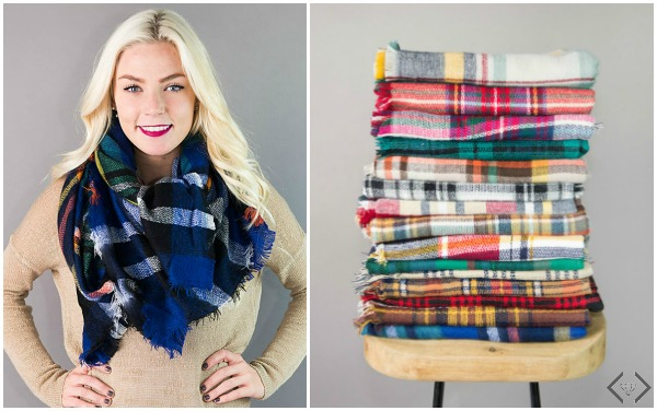 Berlin Blanket Scarves $12.95