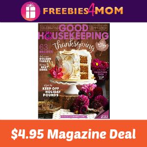 Magazine Deal: Good Housekeeping $4.95