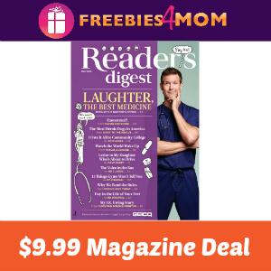 Magazine Deal: Reader's Digest $9.99