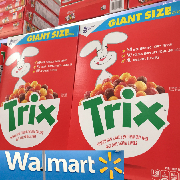 Trix Cereal at Walmart