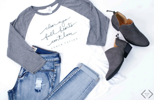 Friday Night Lights Raglan Tee $16.95