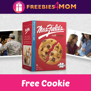 Free Mrs. Fields Cookie