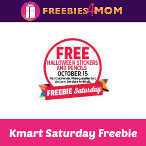 Free Halloween Stickers & Pencils at Kmart