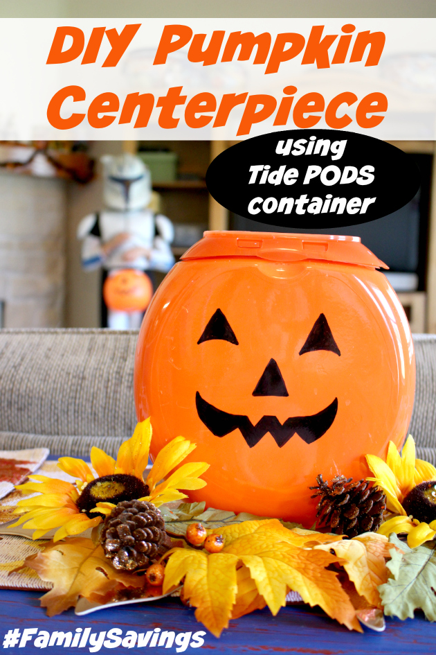 DIY Pumpkin Centerpiece plus Save with Smart Coupons at Family Dollar®