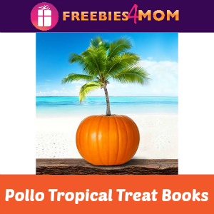 Halloween Treat Books at Pollo Tropical
