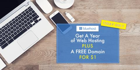 $35 Gift Card Bonus for signing up for Bluehost