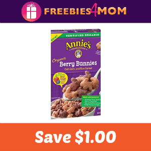 Coupon: $1.00 off one Annies Organic Cereal