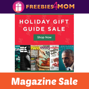 Gift Guide Magazine Sale