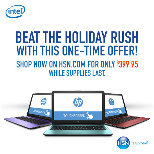 Get an HP Notebook for only $399.95